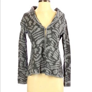 212 Collection Tiger Print Cardigan size XL